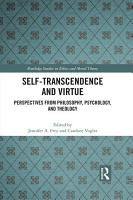 Self Transcendence and Virtue PDF