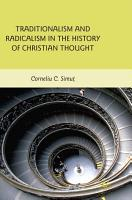Traditionalism and Radicalism in the History of Christian Thought PDF