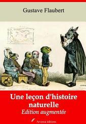 Une leçon d'histoire naturelle: Nouvelle édition augmentée
