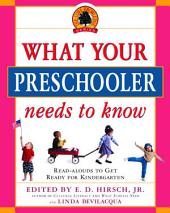 What Your Preschooler Needs to Know: Get Ready for Kindergarten