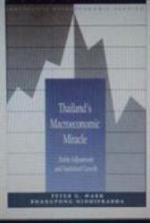 Thailand S Macroeconomic Miracle Book PDF