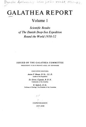 Galathea Report