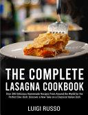 The Complete Lasagna Cookbook PDF