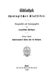 Schleiermachers Reden über die Religion