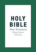 Holy Bible: Authorized King James Version New Testament (LARGE PRINT)