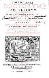 Collectanea doctorum tam veterum quam recentiorum in ius pontificium uniuersum: tomus quintus : in quo continetur Decretum Gratiani