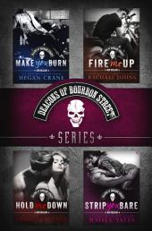 The Deacons of Bourbon Street Series 4-Book Bundle: Make You Burn, Fire Me Up, Hold Me Down, Strip You Bare