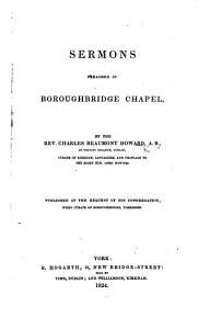 Sermons preached in Boroughbridge Chapel PDF