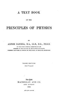 A Text Book of the Principles of Physics PDF