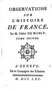 Observations sur l'histoire de France: Volume2