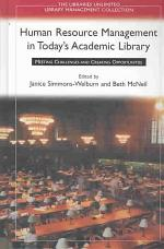 Human Resource Management in Today's Academic Library