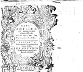 Vestitus antiquorum, recentiorumque totius orbis