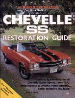 Chevelle SS Restoration Guide  1964 1972 PDF