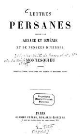 Lettres persanes: suivies de Arsace et Isménie et de pensées diverses