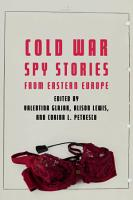 Cold War Spy Stories from Eastern Europe PDF