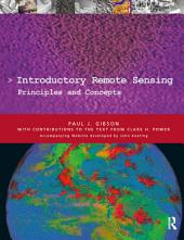 Introductory Remote Sensing Principles and Concepts