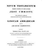 Novum Testamentum Domini Nostri et servatoris Domini Nostri Jesu Christi