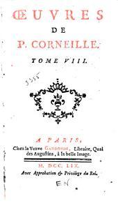 Œuvres de P. Corneille: Sophonisbe. Othon. Agésilas. Attila, roi des Huns