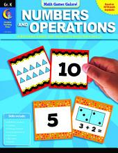 Math Games Galore: Numbers and Operations, Gr. K, eBook: Numbers and Operations