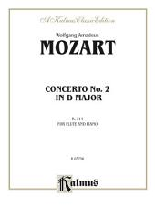 Flute Concerto No. 2 in D Major, K. 314: Flute Solo with Piano
