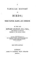 A Familiar History of Birds PDF