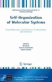 Self-Organization of Molecular Systems: From Molecules and Clusters to Nanotubes and Proteins