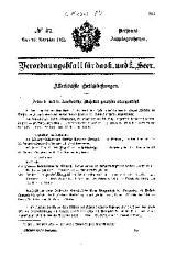 Verordnungsblatt für das k. u. k. Heer: Personal-Angelegenheiten, Ausgabe 47