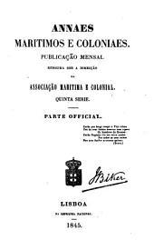 Annaes maritimos e coloniaes
