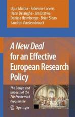 A New Deal for an Effective European Research Policy PDF
