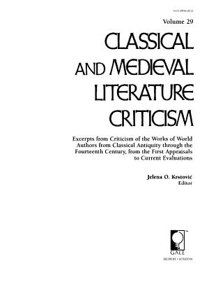 Classical and Medieval Literature Criticism PDF