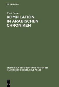 Kompilation in arabischen Chroniken PDF