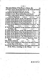 Astronomy of the Satellites of the Earth, Jupiter and Saturn: Grounded Upon Sir Isaac Newton's Theory of the Earth's Satellite ... Also New Tables of the Motions of the Satellites of Jupiter and Saturn ... by which Their Places and Position ... May be Exactly Determined at Any Given Time. Adapted to the Meridian of London. To which is Added a Problem to Find the Latitude of the Place by the Altitude of the Sun, Moon, Or Star, Upon Any Azimuth ...