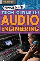 Careers for Tech Girls in Audio Engineering PDF