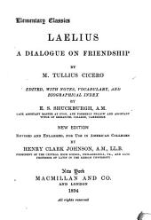 Laelius: A Dialogue on Friendship
