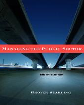 Managing the Public Sector: Edition 9