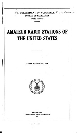 Amateur Radio Stations of the United States