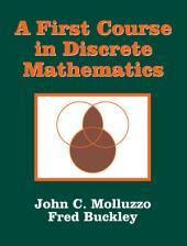 A First Course in Discrete Mathematics
