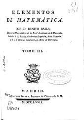 Elementos de matemáticas ...: Volumen 3