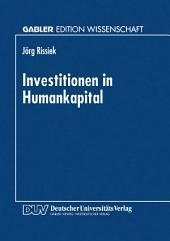 Investitionen in Humankapital