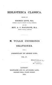 M. Tullius Cicero . Orationes