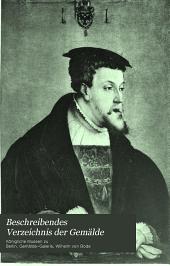 Beschreibendes Verzeichnis der Gemälde