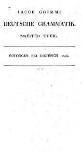 Deutsche Grammatik: 2