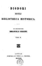 Bibliotheca historica: Volume 2