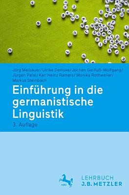 Einf  hrung in die germanistische Linguistik PDF