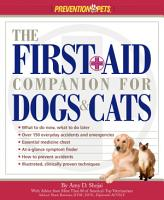 The First Aid Companion for Dogs   Cats PDF