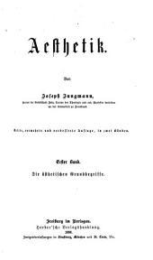 Aesthetic von Joseph Jungmann ...
