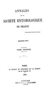 Annales de la Société entomologique de France: Volume30