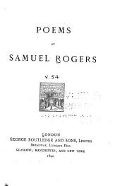 The Poems of Samuel Rogers