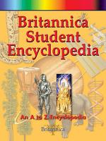 Britannica Student Encyclopedia  A Z Set  PDF
