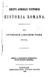 Sexti Aurelii Victoris Historia Romana